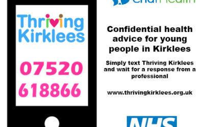 Thriving Kirklees Messaging Service